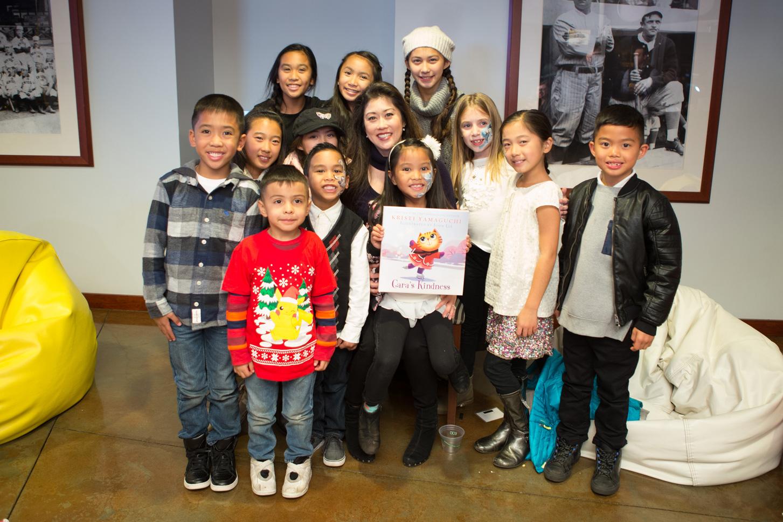 Kristi Yamaguchi attends Holiday Heroes